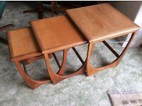 Retro Gplan nest of 3 tables