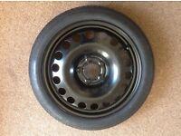 Vauxhall spacesaver wheel