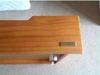Mamas and Papas Cot/toddler bed with under storage drawers and a cot top changer