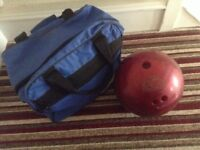 Ten Pin Bowling Ball & Bag