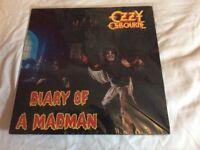 Ozzie ozbourne vinyl album