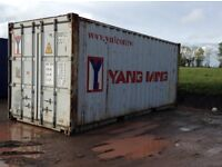 2nd hand steel shipping container