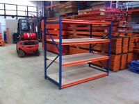STOW 4 TIER SHOP GARAGE CONTAINER WORKSHOP LONGSPAN MINI RACKING SHELVING BAY