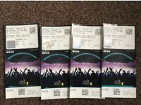Anthony Joshua floor seats tickets