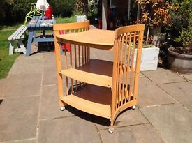 Fantastic Stokke changing table with loads of storage