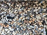 Firewood logs delivery or collection North Devon