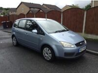 Ford C-Max 1.8 Tdci Diesel 2007 1 Owner From New 12 Month MOT Ideal Family Car