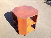 1930s Octagonal Coffee/Book Table