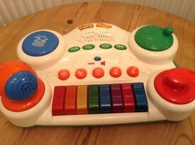 Two baby/ toddler toy pianos £2.50 each or both for £4.00