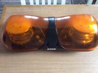 L E D vehicle orange warning light