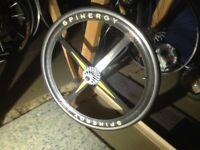 "Spinergy x rev rear wheel 26"" tubs yeti Kline retro"