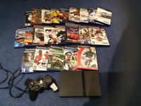 Play station 2 with 22 games