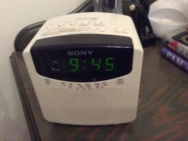 Sony Digicube Clock Radio