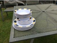 Camping melamine plates