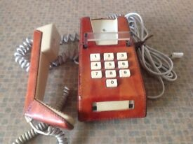 Brown leather Trim PhoneTrim