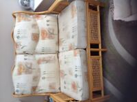 4 sets Cushions for conservatory furniture