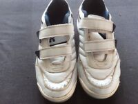 White Trainers Size 8