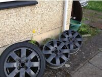 Alloy wheels £80ono