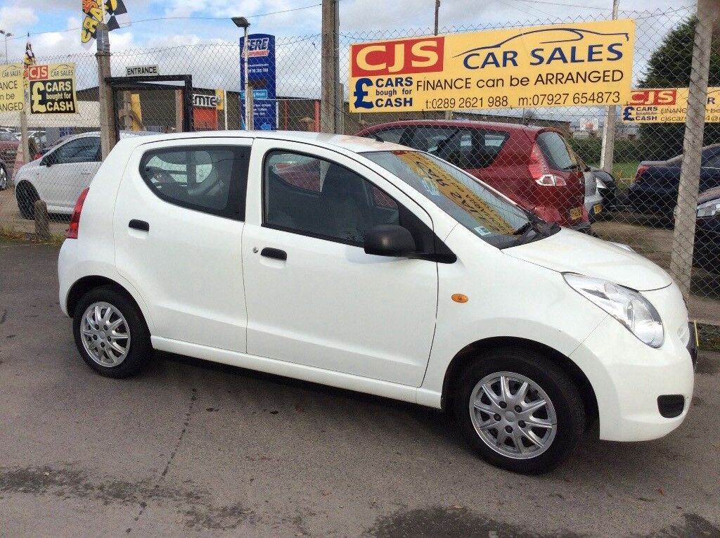 Suzuki Alto 1.0 L petrol 2013 one owner 50000 fsh fullyserviced £0 tax mint car may px