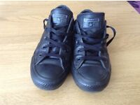 Convrerse all stars leather shoes
