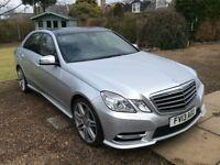 Mercedes E350 Sport CDi Blue Efficient 2013 Silver Metallic !! REDUCED !!