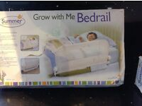 Summer grow with me bed guard