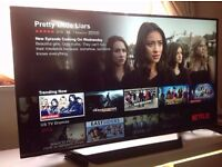 """LG 49"""" 49UF770V Smart 4K ULTRA HD TV,built in Wifi,Freeview HD,NETFLIX,YOUTUBE,excellent condition"""
