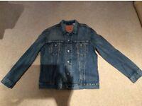 LEVI STONEWASH BLUE TRUCKER STYLE JACKET SIZE XL BRAND NEW