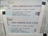Liverpool Psychfest 2 Weekend Tickets Half Price £40 PZYK Fest International Festival Of Psychedelia
