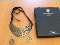 Marcel wanders for M&S matching necklace and ear rings