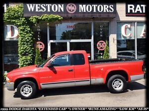 1999 Dodge Dakota EXTENDED CAB *1 OWNER *LOW KM *RUNS AMAZING *A