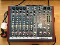 Allen & Heath Zed 10FX Analog Mixer