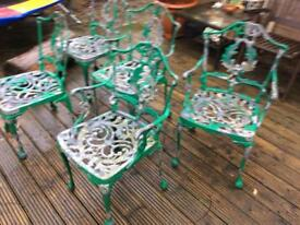Old Garden chairs