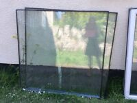 Panes of glass, various sizes, great condition, FREE!!