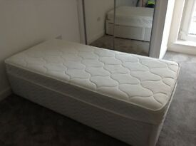 Single Bed with drawers.