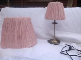 Pendant lampshade and side lamp