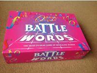 Battle words game