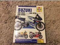 Suzuki gsxr haynes manual 00to03