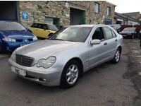 Mercedes-Benz C Class 2.1 C220 CDI Classic 4dr 3 OWNER CAR++F.S.H++2KEYS! 2002 (02 reg), Saloon