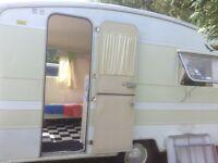 Vintage 1976 Alpine Sprite caravan