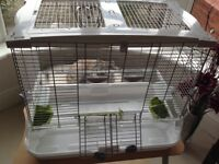 HAGEN VISION BIRD CAGE AND STAND
