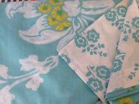 Designer Guild double duvet cover with pillow cases ex.con.£7