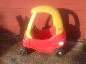 Childs Used outside sit in car