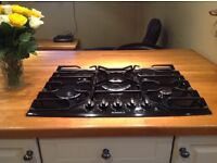 5 ring gas hob made by DeDietrich