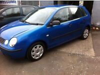 \\ SMALL AUTOMATIC // 53 VW POLO 1.4 TWIST AUTO 5 DOOR, 81000 MILES, MOT DECEMBER.