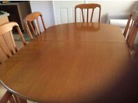 Just Reduced as space is needed Extending Dining Table and 4 Chairs