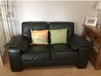 Exceptional quality buffalo leather 2 seater settee. 1, 2 or 3 available.