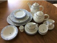 Habitat classic dinner and tea/coffee set - Barton design