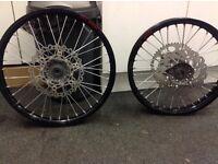 Yzf450 2010-2013 wheels