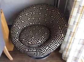 DFS swivel tub chair